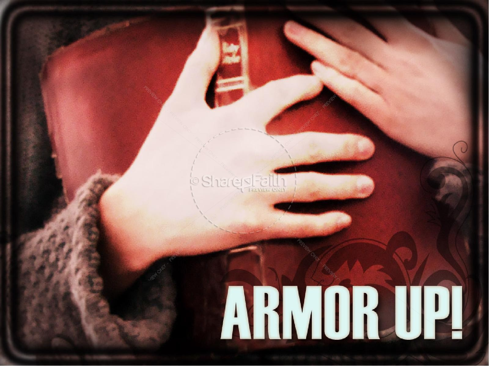 Armor Up | slide 1