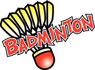 Badminton with Yellow Birdie