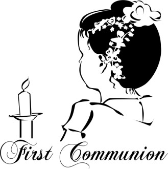 First Communion with Title