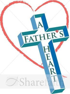 Fathers Heart and Cross