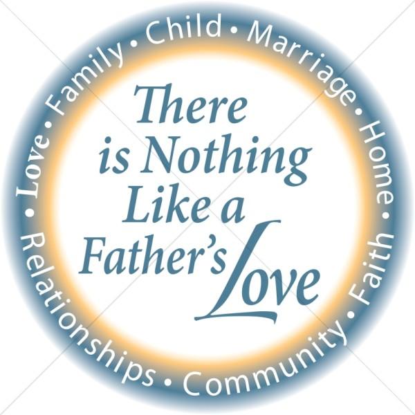 Circle Fathers Love
