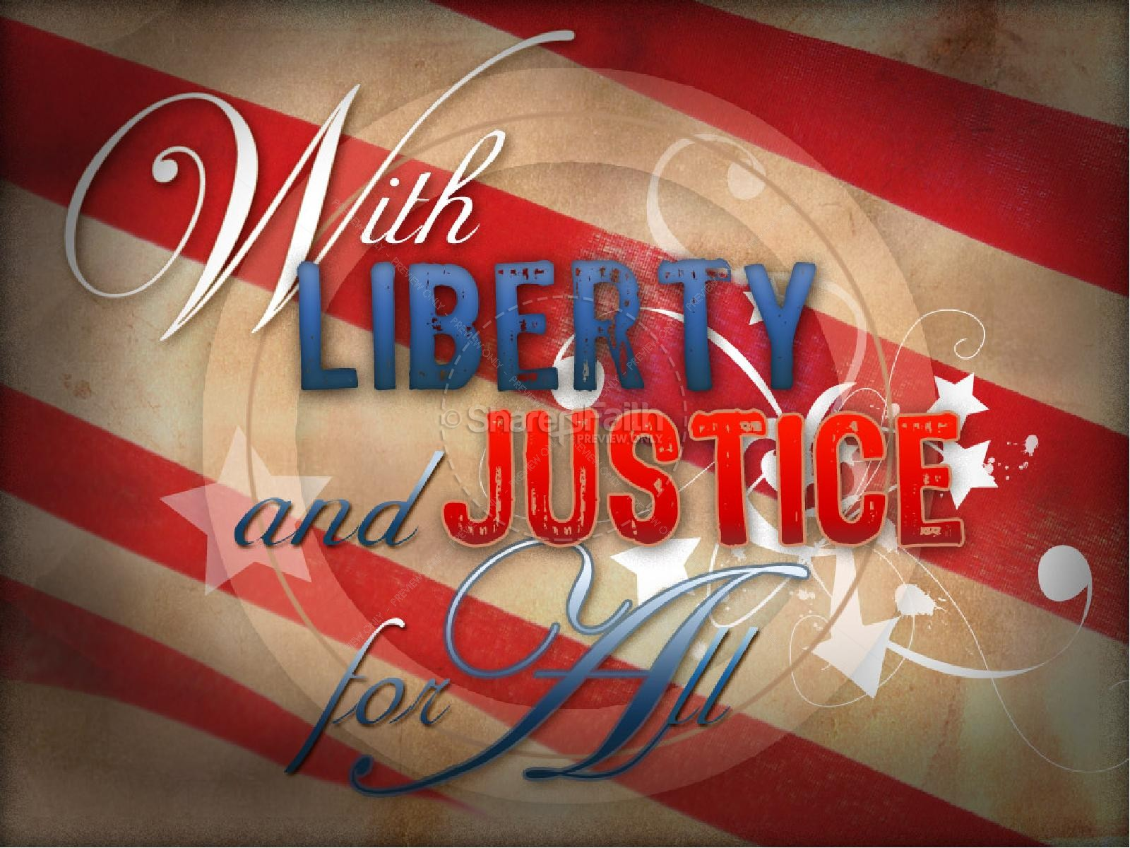 Liberty and Justice | slide 1