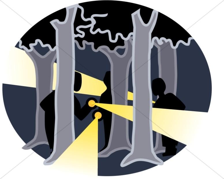 Trees and Flashlights