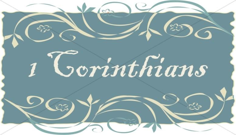 1 Corinthians in a Frame