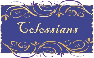 Colossians in a Frame