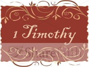 1 Timothy in a Frame