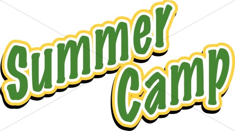 Summer Camp Lettering