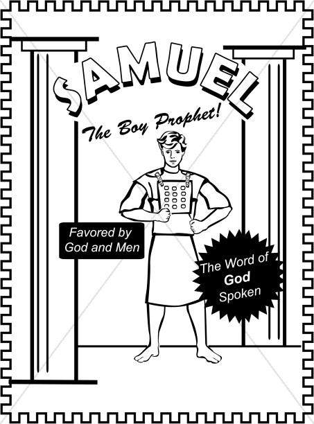 Samuel Coloring Page Children 39 s