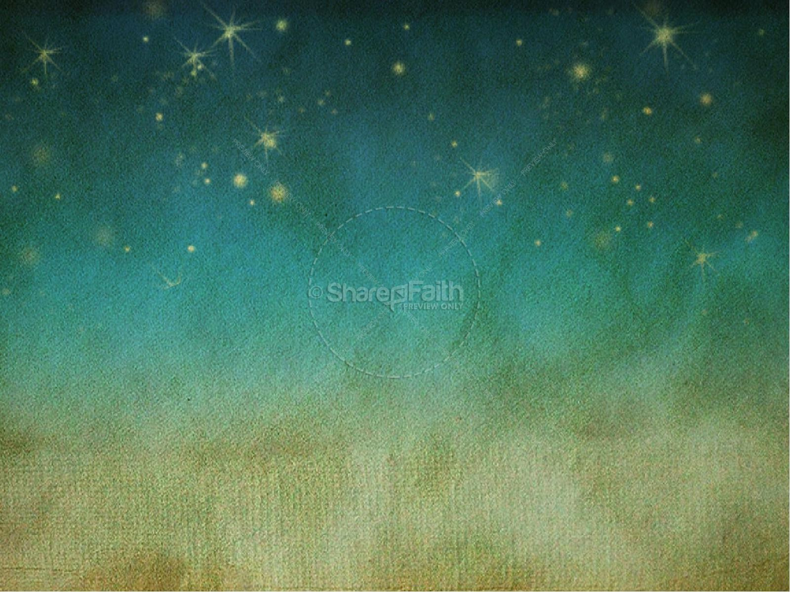 Night Sky With Stars Worship Backgrounds