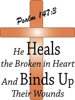 Cross with Psalm Scripture