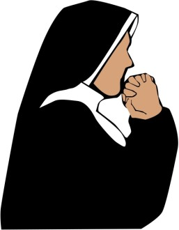 Nun in Prayer