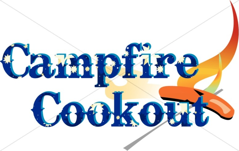 Campfire Cookout Clipart