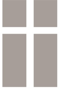 Grayscale Cross