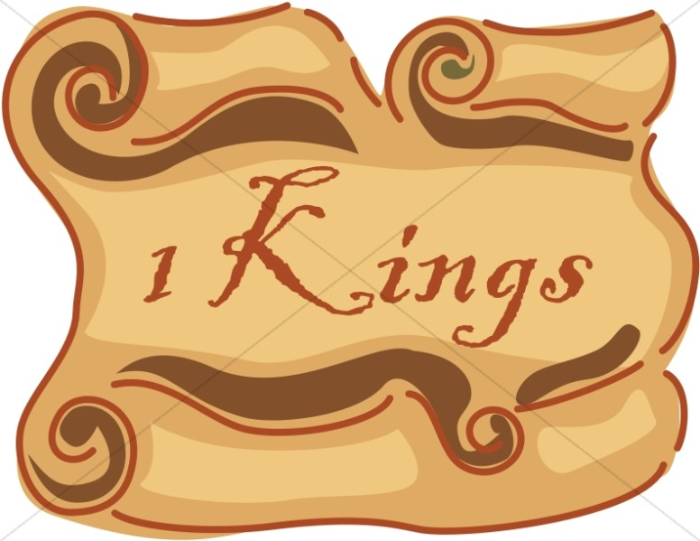 1 Kings Scroll Books of the Bible