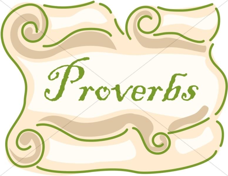 Proverbs Scroll