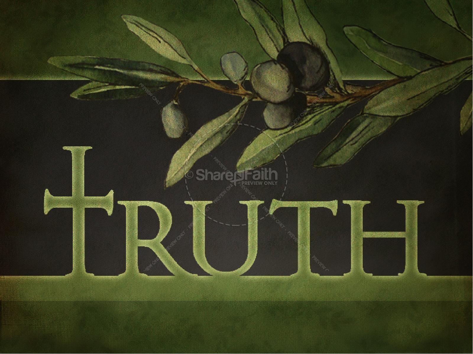 Truth PowerPoint | slide 1