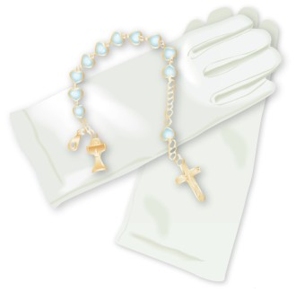 Gloves and Rosary
