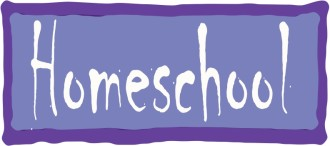 Homeschool Banner in Purple