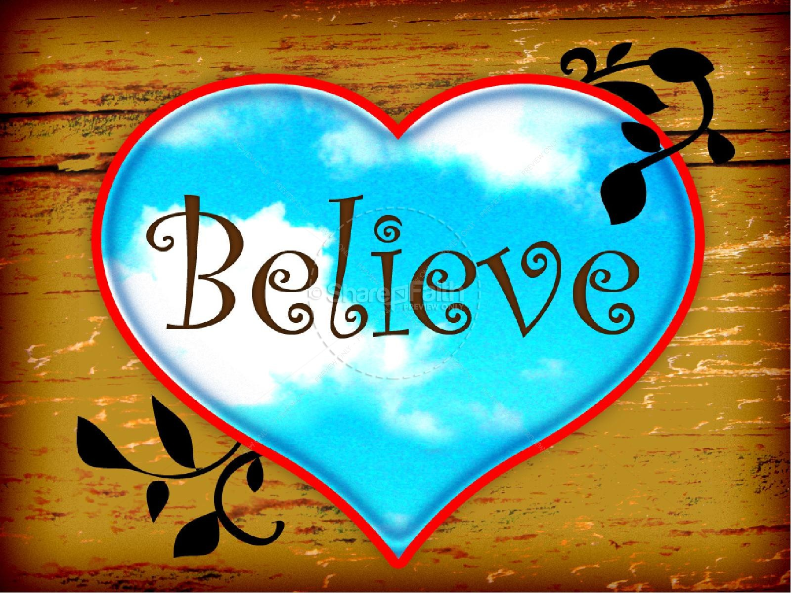 Believe PowerPoint
