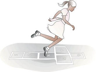Hopscotch Girl