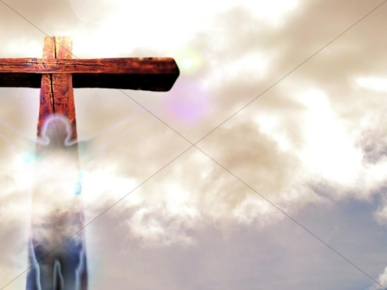 Redemptive Cross with Clouds