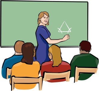 Teacher Clipart in Color