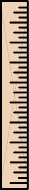 Simple Ruler Clipart