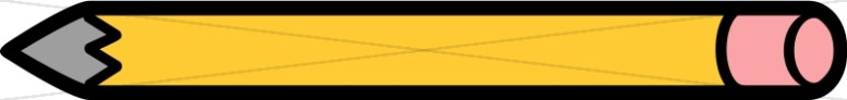 Yellow Pencil Clipart