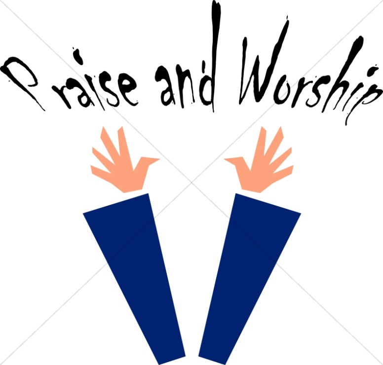 Praise and Worship Clipart Image