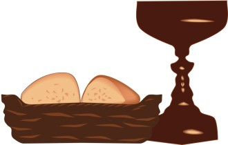 Brown Holy Communion Clipart
