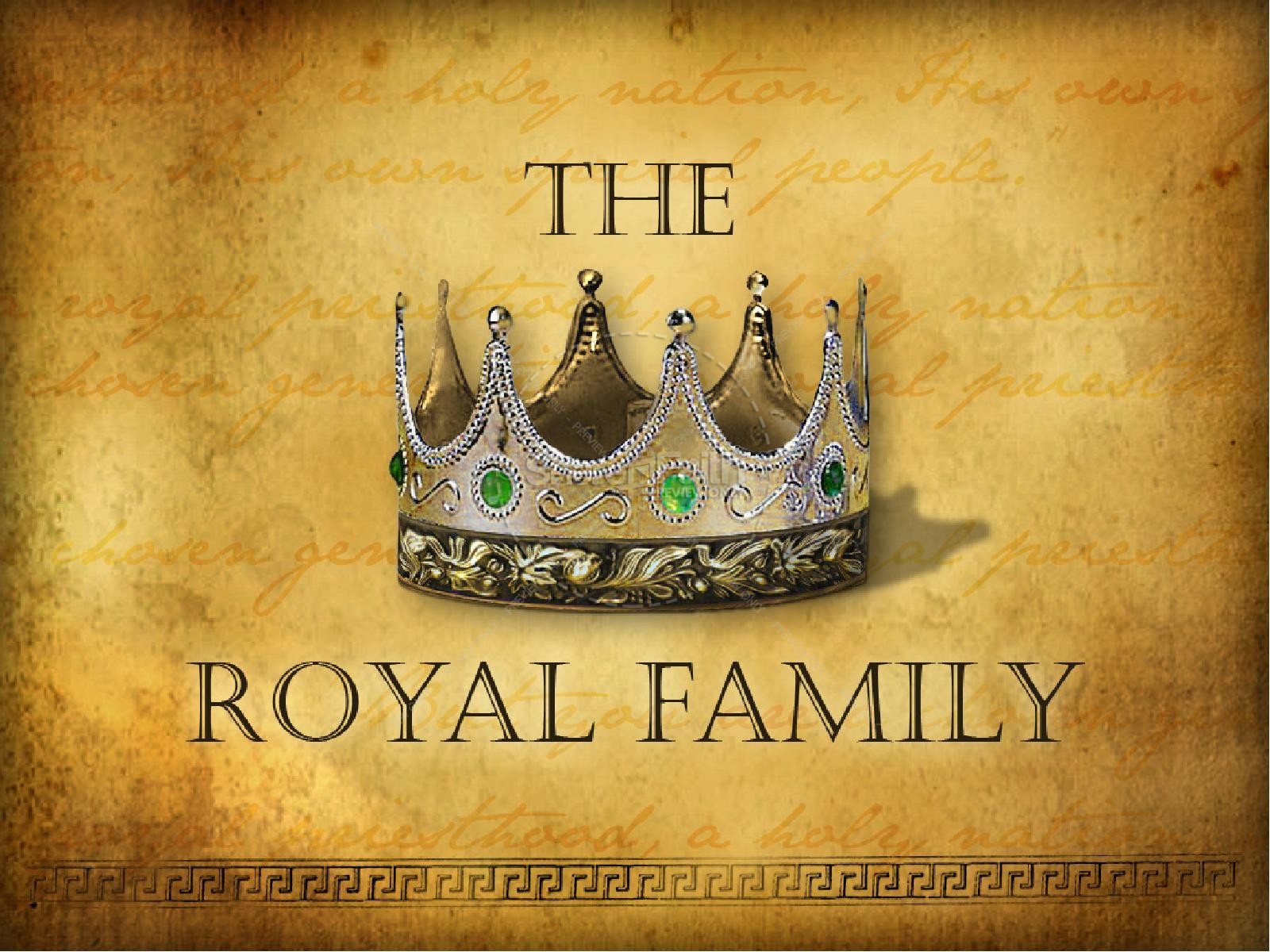 The Royal Family PowerPoint