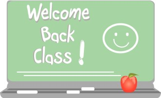 Welcom Back Class