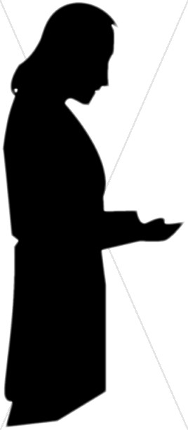 Silhouette of Petition to God