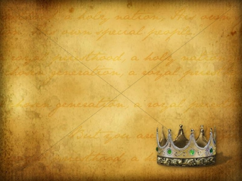 Crown Against Parchment
