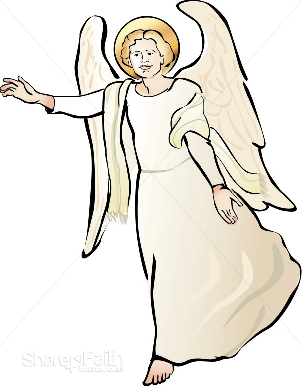 Clipart of Angel | Angel Clipart