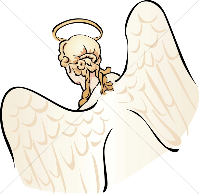Angel Head Clipart
