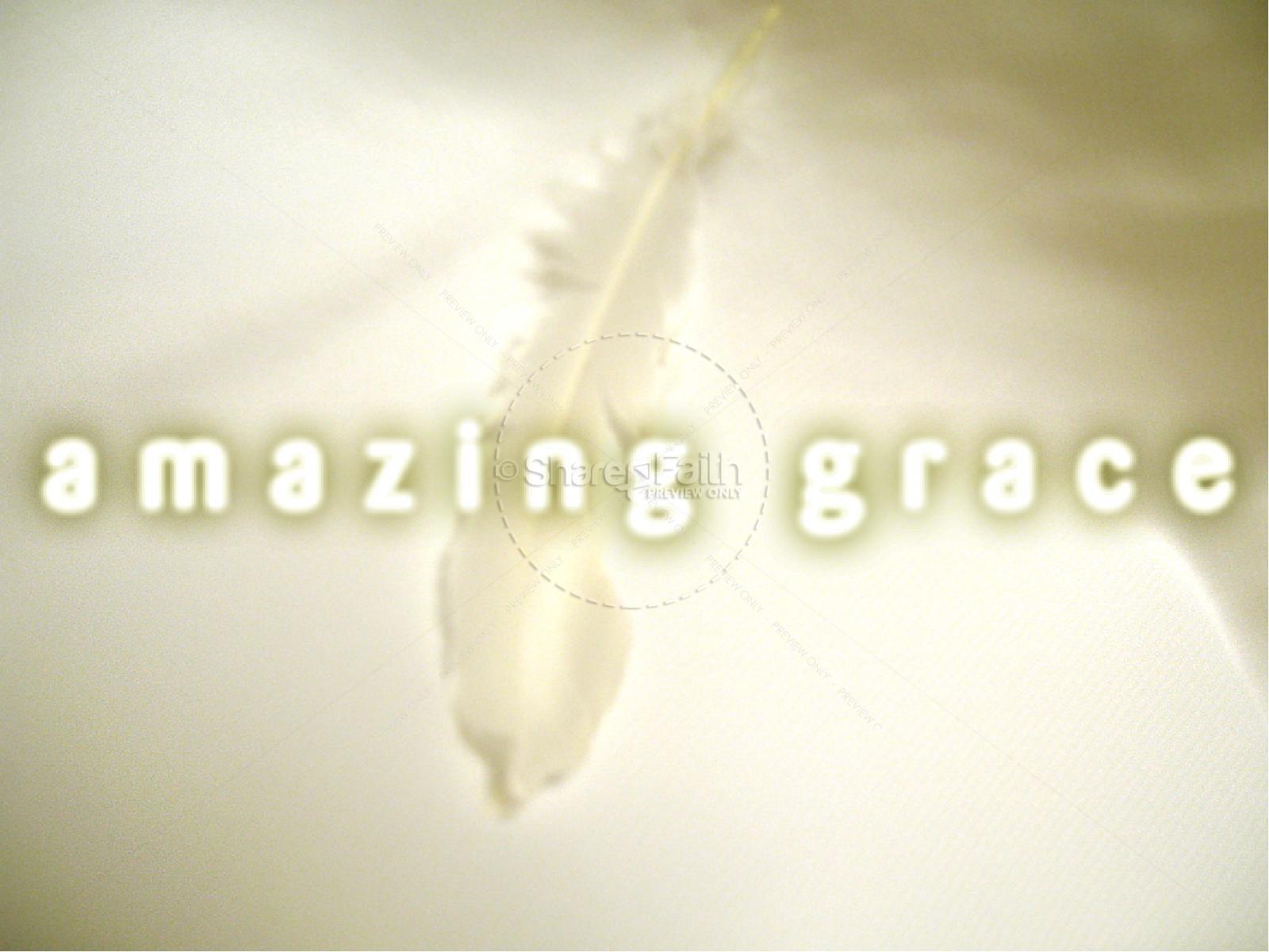Amazing Grace PowerPoint | slide 1