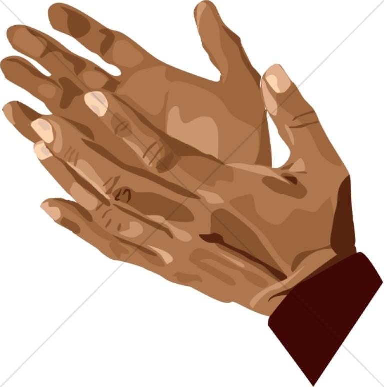 Man Hands Clipart