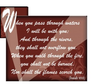 Isaiah Verse Word Art