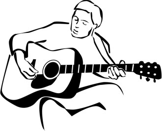 Worship Leader Clipart