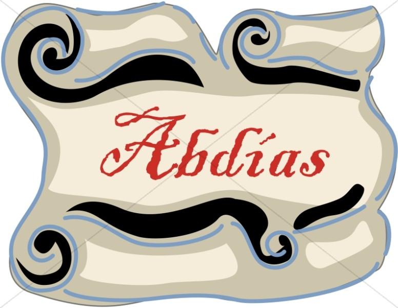 Spanish Title of Abdias