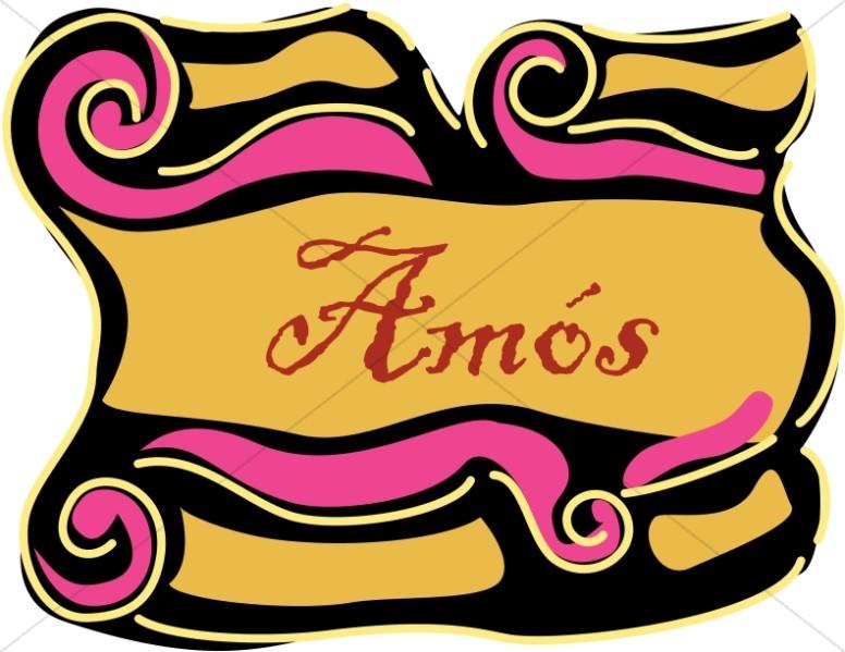 Spanish Title of Amos