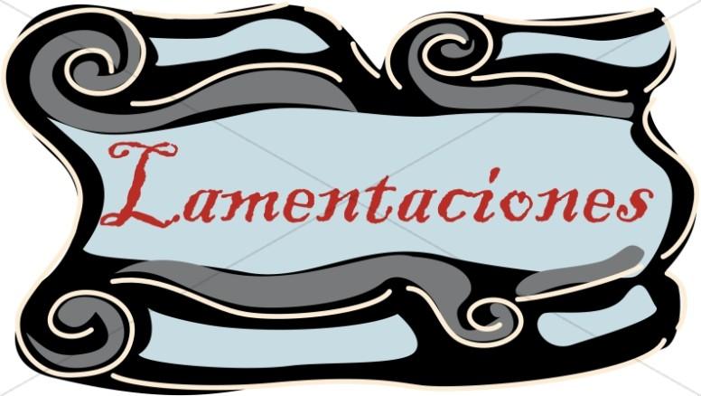 Spanish Title of Lamentaciones