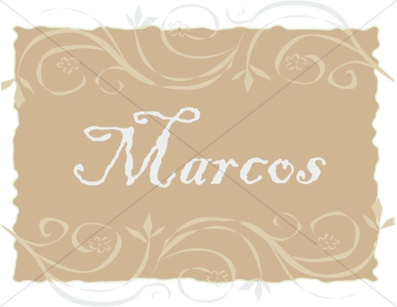 Spanish Title of Marcos