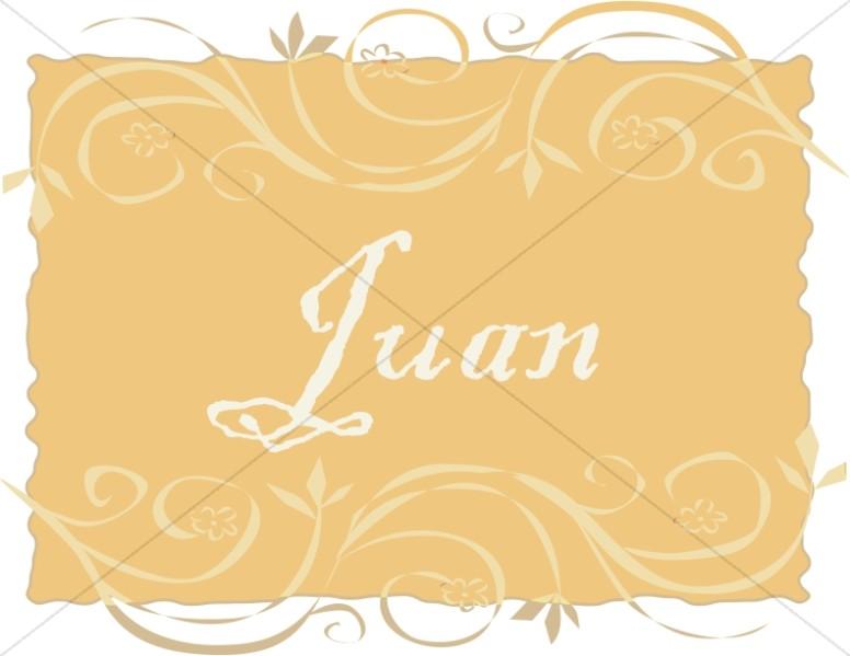 Spanish Title Juan