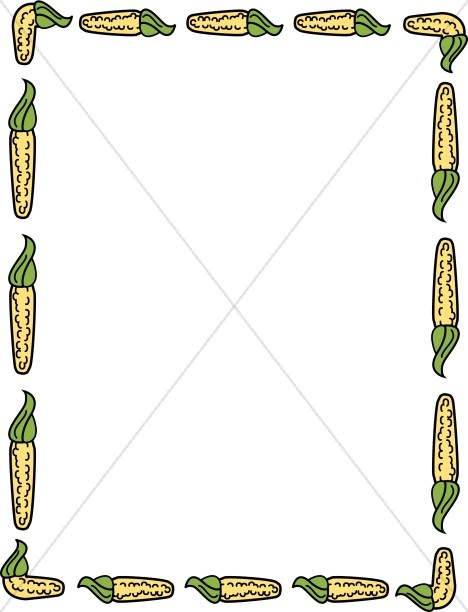 Yellow Corn Border