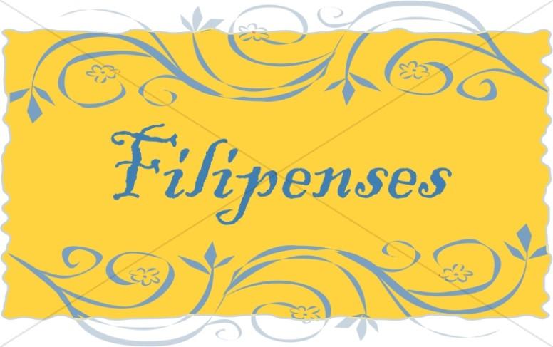 Spanish Title of Filipenses