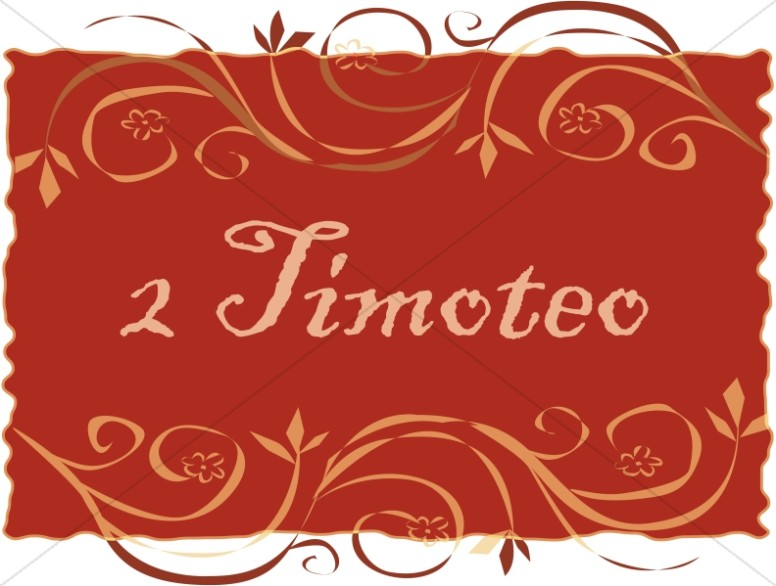 Spanish Title of 2 Timoteo