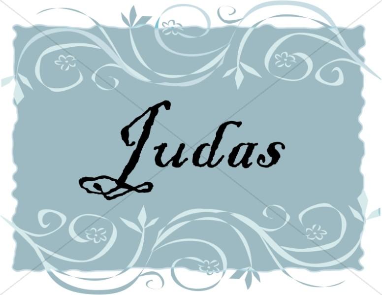 Spanish Title of Judas