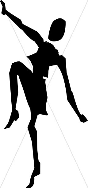 Dancing in the Spirit Silhouette